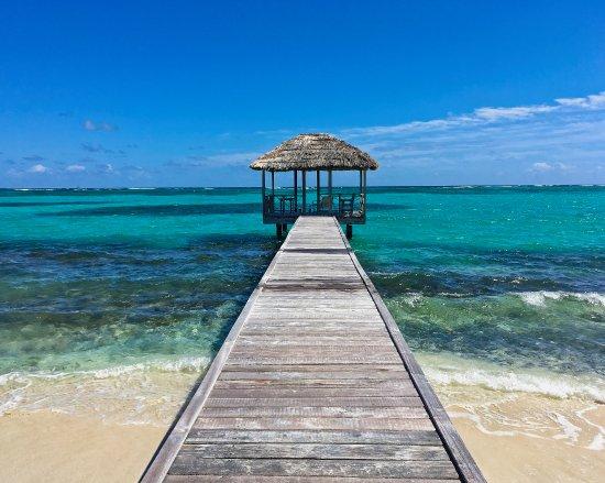 Petit St.Vincent: beach cabana