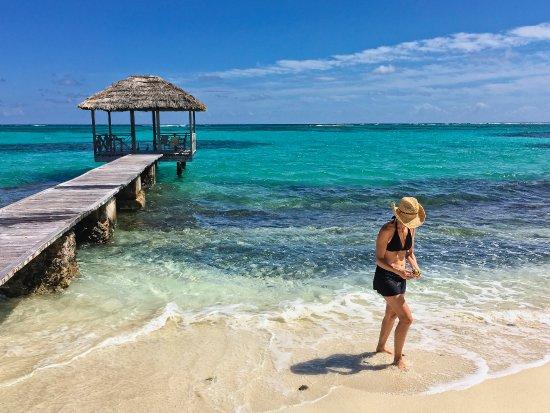 Petit St.Vincent : beach cabana