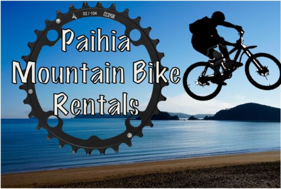 ‪‪Paihia‬, نيوزيلندا: Paihia Mountain Bike Rentals‬