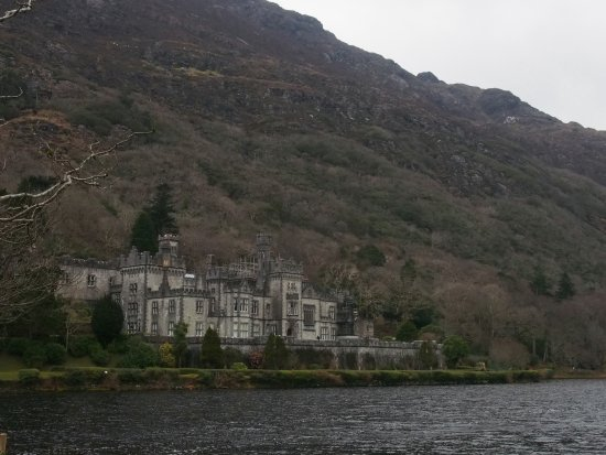 Kylemore Castle which now serves as an abbey.