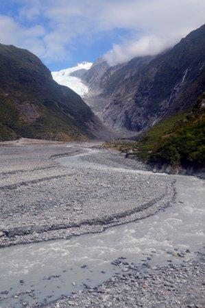 Franz Josef, New Zealand: Voilà ce que l'on peut voir avec la marche gratuite.