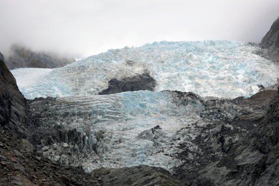 Franz Josef, New Zealand: et de plus près.