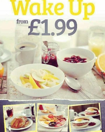 Bulls Head: Breakfast everyday until 12pm