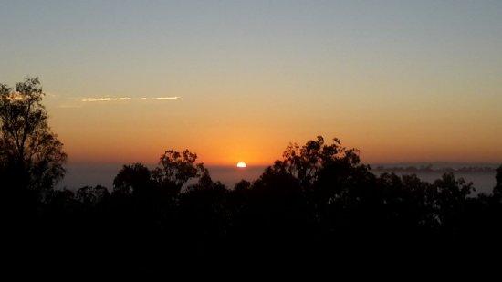 Grandchester, Austrália: Spectacular sunrise