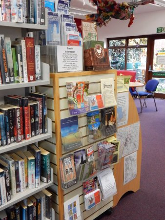 Halesworth Library is a designated Visitor Information Point