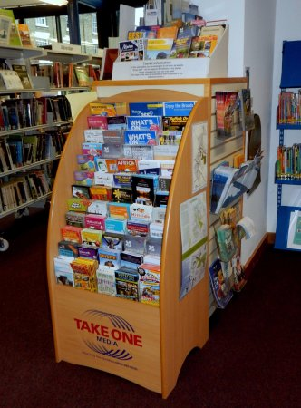 Halesworth, UK: Some of our tourist information leaflets.