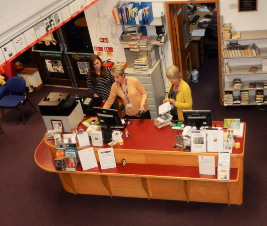 Halesworth, UK: Our Library staff can give you all sorts of information including places to visit