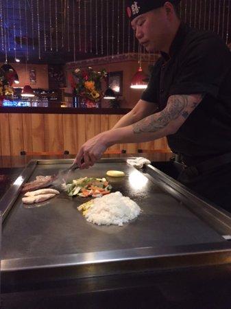 Osaka Steak House: Chef Mike