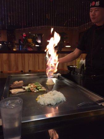 Osaka Steak House: Cooking