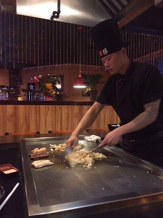 Osaka Steak House: Steak, shrimp, chicken