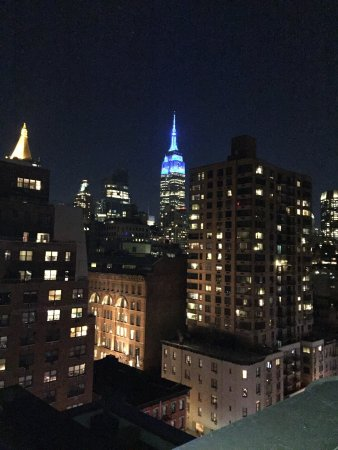 The Marcel at Gramercy : Beautiful view from 10F lounge.