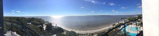 Saint Simons Island, GA: Panoramic view from the top