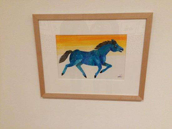 High Museum of Art: Blue Horse