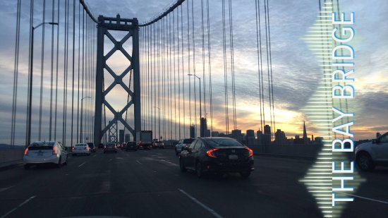 San Francisco Bay Bridge : Rush Hour.