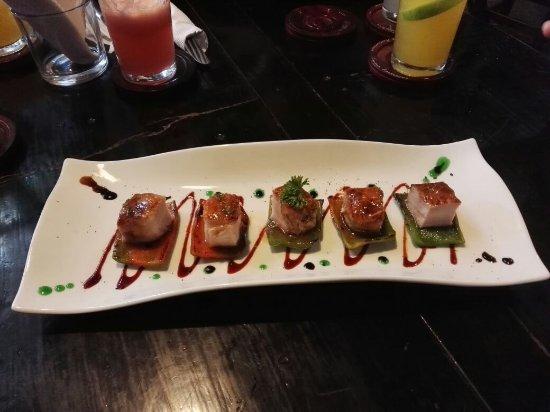 delicias de nuesta cocina - Picture of El Cielo - Fusion Amazonica ...