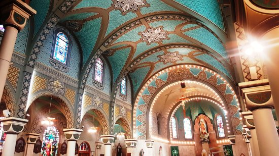 Immaculate Heart Of Mary Church: Immaculate Heart Of Mary Interior