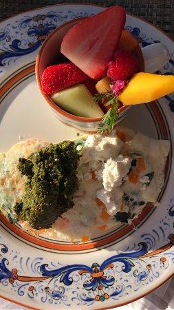 The Ritz-Carlton Bacara, Santa Barbara: Amazing breakfast at Bistro Cafe