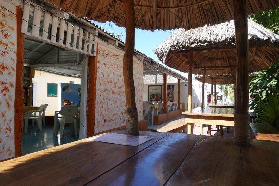El Cuyo, Meksyk: widok ogólny na zewnątrz