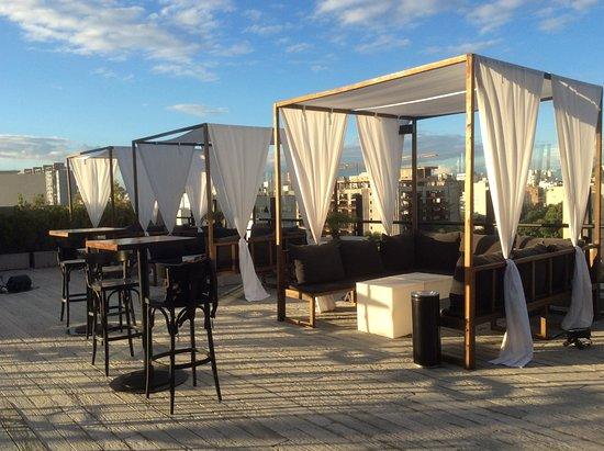 Terraza Con Sillones Picture Of Casasur Palermo Hotel