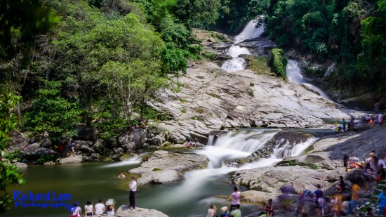 Waterfalls at Chamang, Bentong Pahang