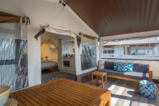 Jervis Bay Holiday Park: NEW Safari Tents