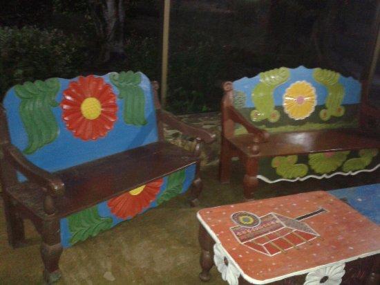 Rincon de la Vieja Lodge: Nice bench