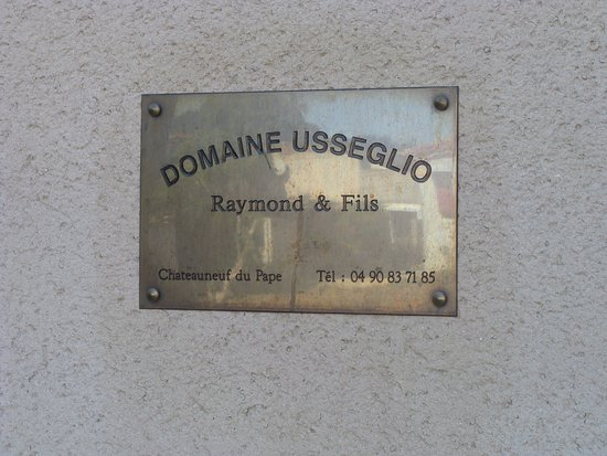 Orange, Francja: Domaine Usseglio