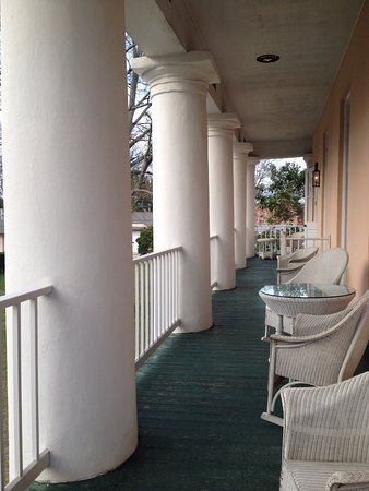 Jackson, LA: Gallery suite private veranda