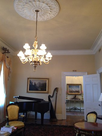 Jackson, LA: Parlor downstairs