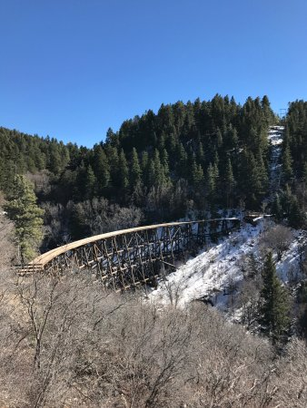 Cloudcroft, NM: State Route 244