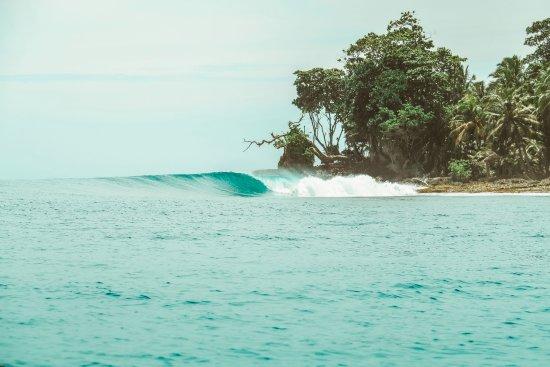 Mentawai Islands, Indonesia: Nearby wave
