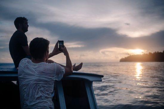 Mentawai Islands, Indonesia: View from the Alaia Mentawai boat
