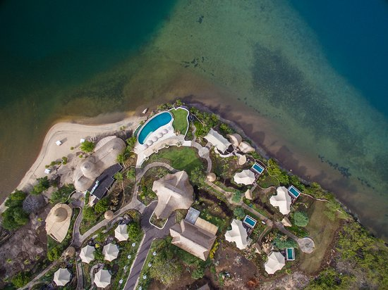 Banyuwedang, Indonesien: An aerial shot of the Resort