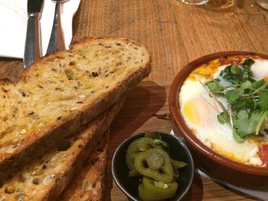 Greater Melbourne, Australia: Baked eggs
