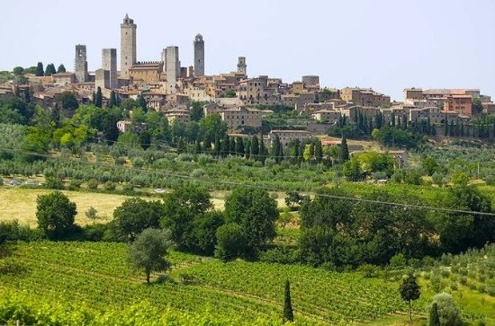 San Gimignano, Chianti, and ...