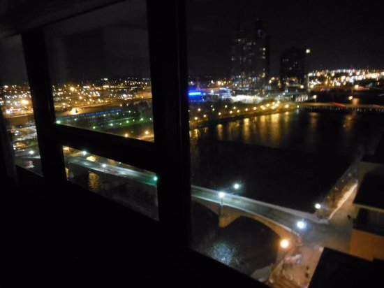 Amway Grand Plaza, Curio Collection by Hilton: A beautiful night view from the room