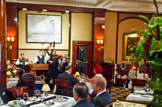 Szechenyi Bath Entry with Gourmet Dinner at Gundel Restaurant