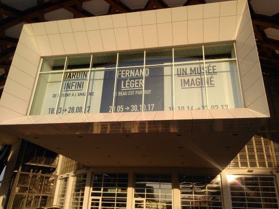 Centre Pompidou-Metz: Façade d'entrée février2017
