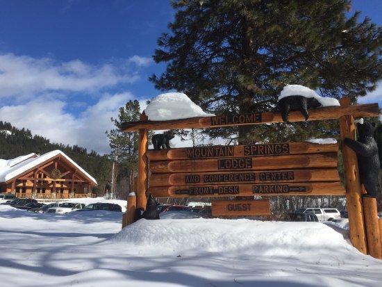 Leavenworth, WA: Lodge entrance
