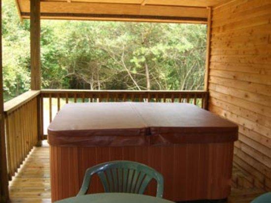 Mount Nebo, WV: Hot Tub