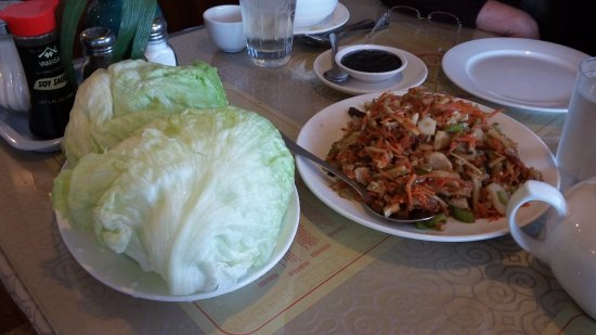 Gibsons, Canada: Lettuce wraps