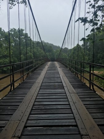 Theme, auglaize swinging bridge