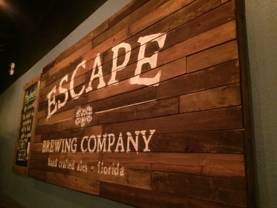 Trinity, Φλόριντα: Escape Brewing Company Taproom