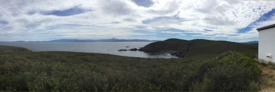 Bruny Island, Austrália: Loved this lighthouse tour. Stem come true to climb up that spiral staircase to the top of the l