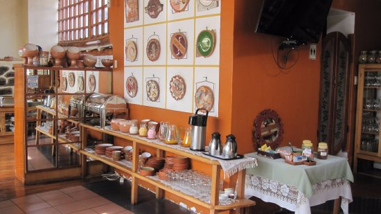 Hotel Samanapaq: fresh squeezed juices and cereals