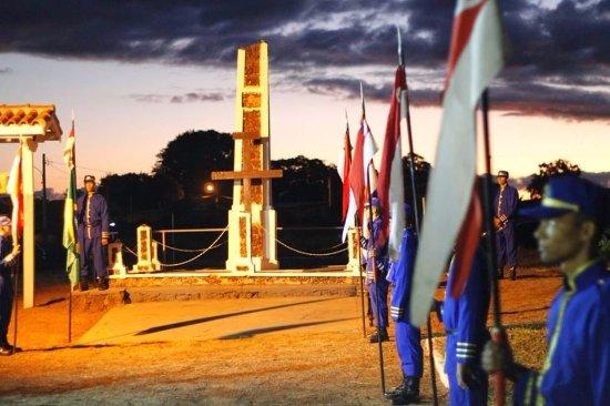 Dia de comemoração em homenagem aos heróis de Nhandipá