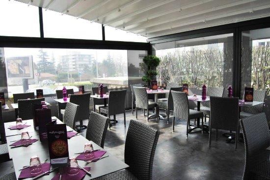 Meylan, فرنسا: La terrasse