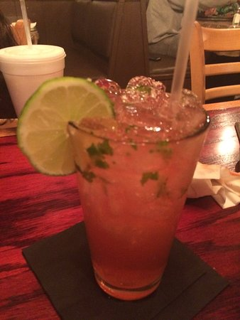 Hemet, CA: The raspberry mojito