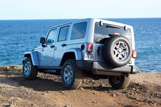 Paia, ฮาวาย: Jeep Rubicon takes you wherever you want to go in MAUI!!!