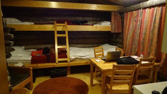 Luosto, Finland: Wohnung in der Hütte